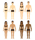 Diverse men and women