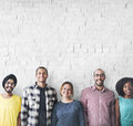 Diverse People Happiness Friendship Copy Space Concept Royalty Free Stock Photo