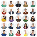 Diverse People Multi Ethnic Va...