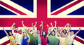 Diversity british community people hapiness concept Stock Images
