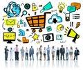 Diversity Business People Online Marketing Professional Team