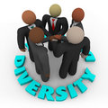 Diversity - Business Team of Men and Women Stock Photography