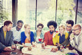 Diversity Casual People Teamwork Brainstorming Meeting Concept Royalty Free Stock Photo