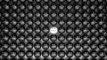Diversity concept happyness sadness 3d illustration