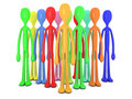Diversity Crowd Royalty Free Stock Photography