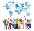 Diversity Ethnicity World Global Community Concept Royalty Free Stock Photo