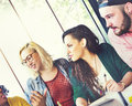 Diversity Friends Team Brainstorming Community Concept Royalty Free Stock Photo
