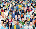 Diversity Large Group of People Multiethnic Concept Royalty Free Stock Photo