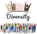 Diversity Nationality Unity Togetherness Graphic Concept Royalty Free Stock Photo
