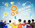 Diversity People Friendship Teamwork Recruitment Concept Royalty Free Stock Photo
