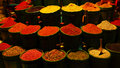 Diversity of spices Royalty Free Stock Photography
