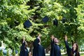 Diversity Students Graduation Success Celebration ConceptGradu