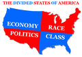 Divided states Royalty Free Stock Photo