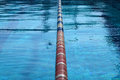 Dividers of paths in the big swimming pool