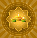 Diwali Background Royalty Free Stock Photo