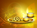 Diwali festival background. Royalty Free Stock Image
