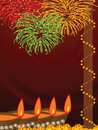 Diwali, The Festival of Lights Royalty Free Stock Photo