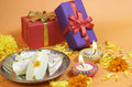 Diwali Gifts Royalty Free Stock Images