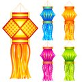 Diwali Hanging Lantern Stock Photo