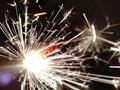 Diwali night fireworks sparkler