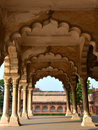 Diwan-i-Am of Agra Fort Stock Images