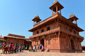 Diwan-i-Khas in Fatehpur Sikri Stock Photo