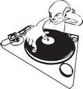 DJ Royalty Free Stock Photo