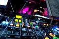 DJ Equipment Royalty Free Stock Photos