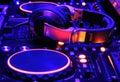 Diskdžokej mixér konzoly na