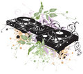 DJ turntable Stock Photography