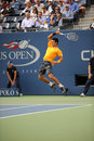 Djokovic Novak at US Open 2009 (14) Stock Photography