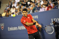 Djokovic us open lost to nadal in final of Royalty Free Stock Photography