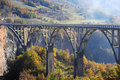 Djurdjevica Tara Bridge Stock Image