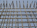 Dla ściany False-work rama Zdjęcie Stock