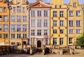 Dlugi targ street in gdansk poland long market city the northen Royalty Free Stock Photo