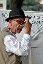 Démocratie réelle maintenant, Barcelone, Espagne Photographie stock