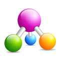 Dna molecule icon Royalty Free Stock Photo