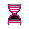 Dna particle isolated icon