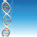 DNA Science Background Stock Photo