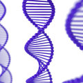 Dna structure genetics background this is a d rendered picture Stock Images