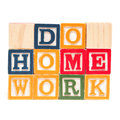 Do Home Work Stock Photos