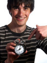 Do not be late to work Royalty Free Stock Image