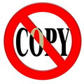 Do not copy Stock Photography