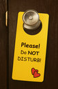 Do not disturb Royalty Free Stock Photo