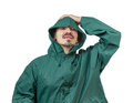 Do not forget your rain gear. Royalty Free Stock Photo