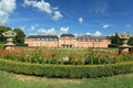 Dobris chateau the rococo in czech republic Royalty Free Stock Photos