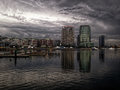 Docklands Royalty Free Stock Photo
