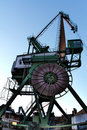 Dockside crane Stock Photos