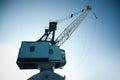 Dockyard crane Royalty Free Stock Photo