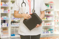 Doctor Holding First Aid Box Royalty Free Stock Photo